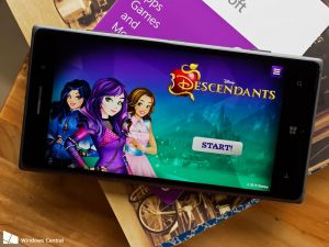 Disney Descendants, a fantasy role-playing game for Windows 10 and Windows Phone