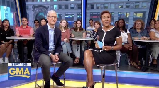 Tim Cook Calls Today's Launch of iOS 11 and ARKit 'A Day To Remember'