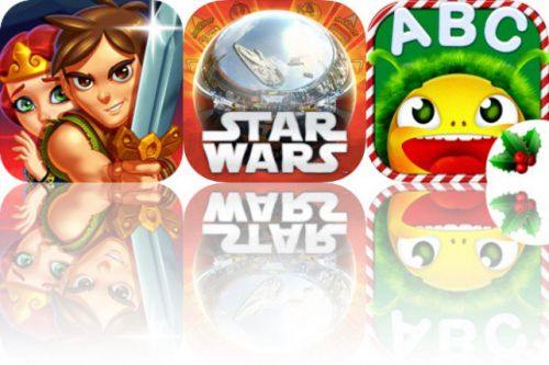 Today's Apps Gone Free: Maze Lord, Star Wars Pinball 7 and Yum-Yum Letters