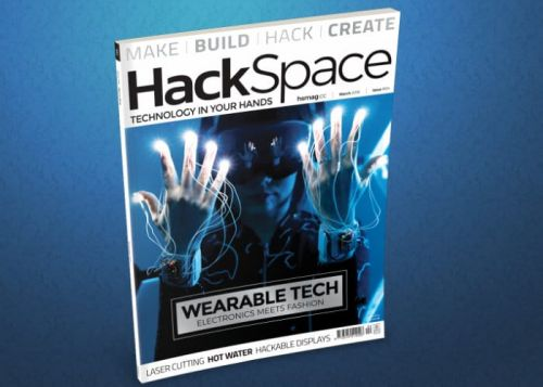 HackSpace Magazine Wearables Edition Issue 4 Now Available