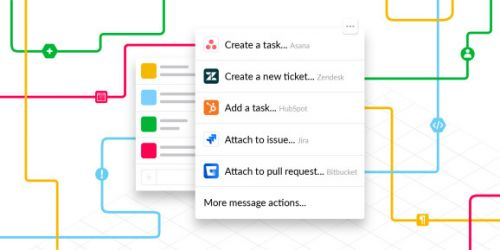 Slack launches actions for deeper integration with enterprise software like Jira, HubSpot, and Asana