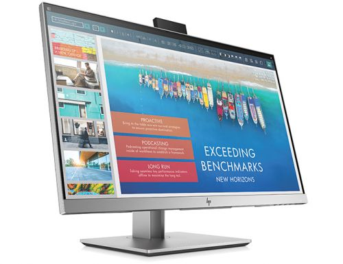 HP Unveils EliteDisplay E243d Docking Display with Webcam, GbE, & 65W Power Delivery