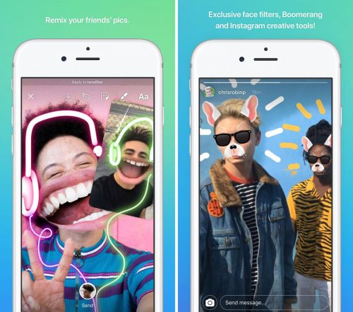 Instagram Testing A 'Direct' Snapchat Clone On Android: Report