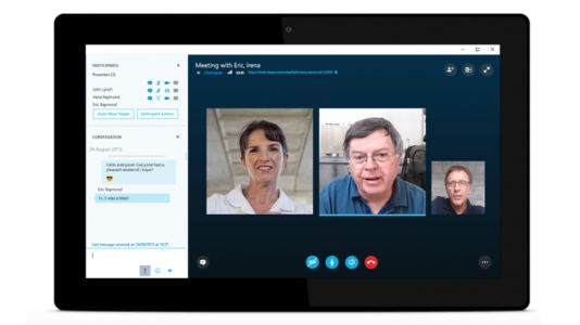 Skype for desktop PCs now lets you blur the background when video chatting