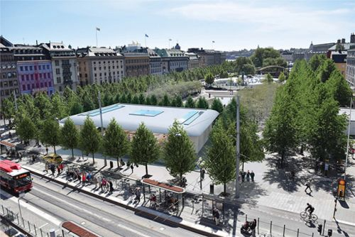 Stockholm's New City Council Opposes Planned Apple Store at Kungsträdgården