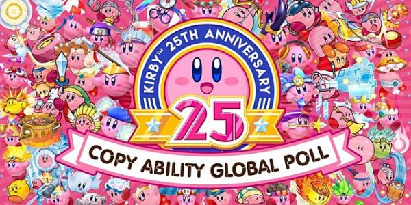 Vote for Your Favorite Copy Ability in Nintendo's 25th Anniversary Kirby Ability Poll