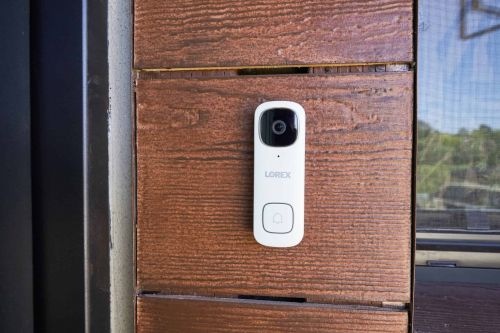Lorex 2K Video Doorbell with Person Detection Now Available