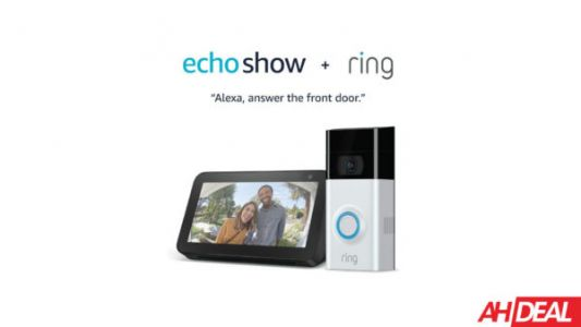 Grab The Ring Video Doorbell 2 & Echo Show 5 For Just $139