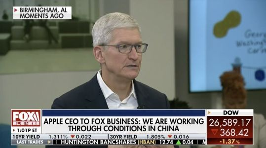 Apple CEO Tim Cook Talks Long-Term Coronavirus Impact in New Interview