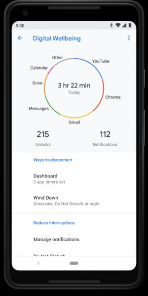 Android 9 Pie To Care About Your Digital Wellbeing This Fall