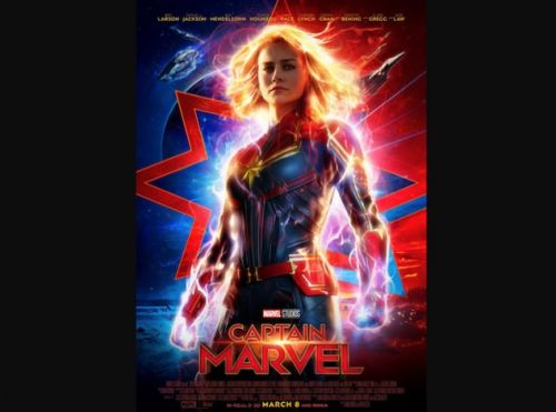 Captain Marvel Poster Released Ahead Of New Trailer