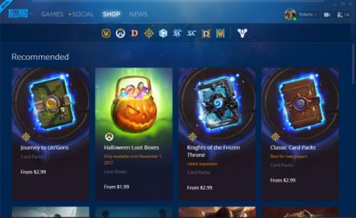 Blizzard is going to make it easier to gift your friends things like Hearthstone packs