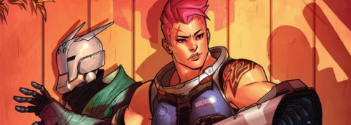 Blizzard Releases New Overwatch Comic Featuring Zarya And Sombra