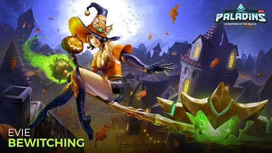 Paladins Gets Spooky with the All Hallows Evie Update and Event