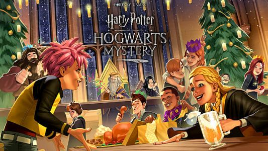 Celebrate Christmas Harry Potter: Hogwarts Mystery Style