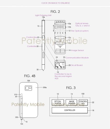 Samsung May Solve Design Complaints With Camera-Equipped S Pen