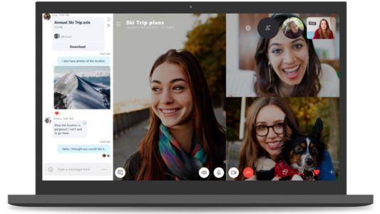 Skype's new background-blurring feature is a celebration of living in your own filth