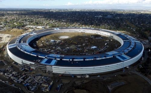 Apple Park Appears In New Drone Video