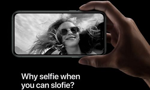 Apple Files Trademark Application for 'Slofies'