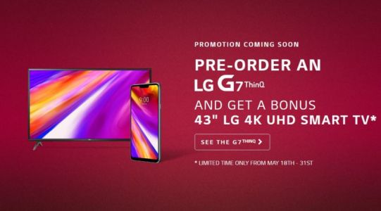 Pre-Order The LG G7 ThinQ In Canada And Get A Free 4K UHD TV