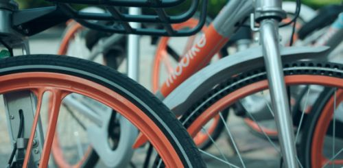 China's Mobike lands in its first U.S. city as bike-sharing battle heats up