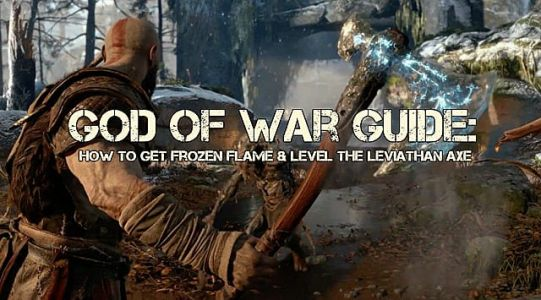 God of War Frozen Flame Guide: How to Get It & Level the Leviathan Axe