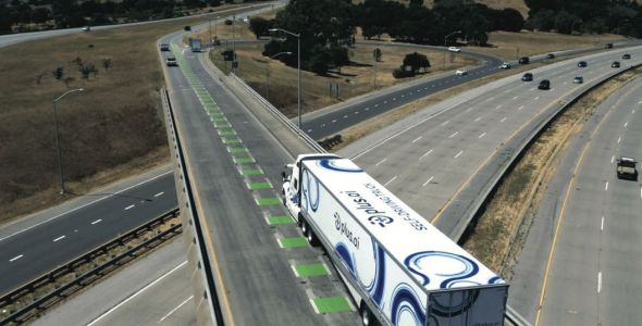 An Autonomous Truck Just Delivered Butter Cross-Country In 3 Days