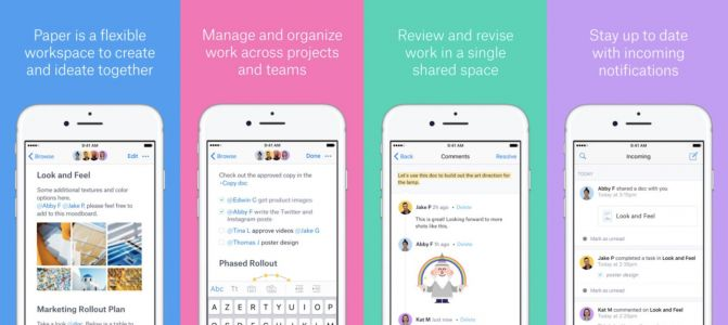Dropbox Paper update brings refreshed UI, enhanced editing, and more to iOS