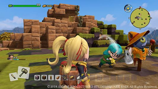 Nintendo Outlines Dragon Quest Builders 2 DLC Release and More