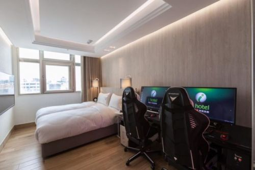 This Hotel Has Gaming Rigs Inside Rooms
