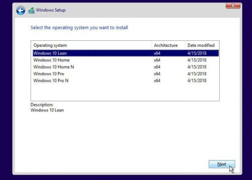 New Windows 10 Lean OS Requires Just 16GB of Storage