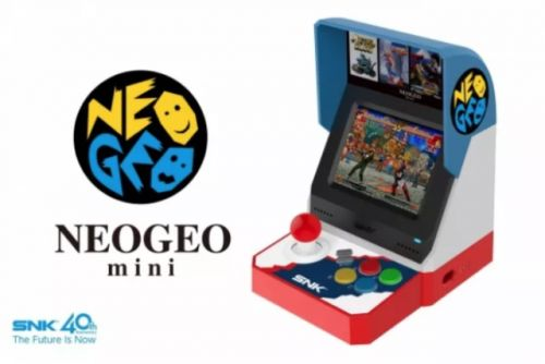 SNK Officially Unveils The Neo Geo Mini Console