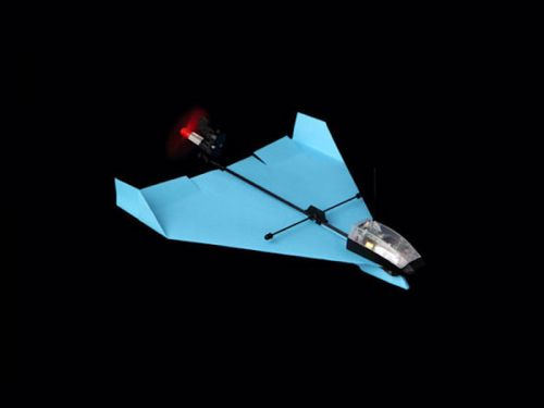 Save 20% on the PowerUp Dart: Smartphone-Controlled Paper Airplane Kit