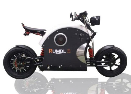Unique Rumble Electric Bike Offers A Range Of 60 Miles