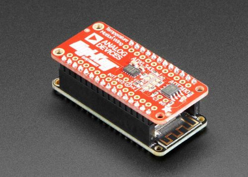 New FeatherWing sensor temperature and accelerometer board