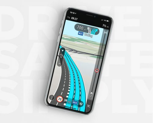TomTom Revamps iPhone App With CarPlay Support, Lane Guidance, Offline Maps With Weekly Updates, and More