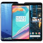OnePlus 5T vs Galaxy S8 vs LG V30 vs Pixel 2 vs HTC U11 price comparison