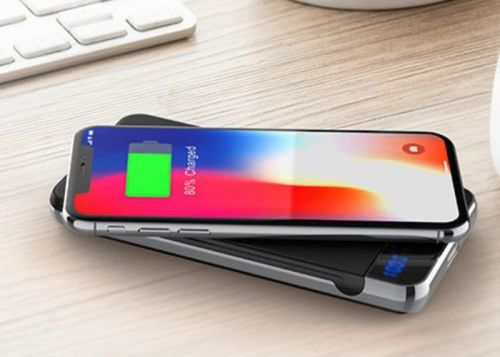 Photic fast charging wireless battery pack