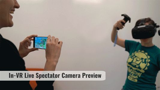 Owlchemy Labs' 'Mobile Spectator' Is a Glimpse Into VR and AR Interacting Together Brilliantly