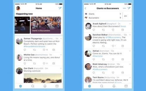Twitter Adds 'Happening Now' Feature to Recommend Events and Topics