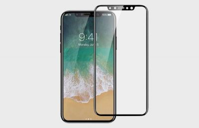 Leaked iPhone 8 Screen Protector Reveals Smaller Bezels and Front Camera