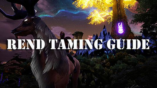 Rend Guide: How to Tame Creatures