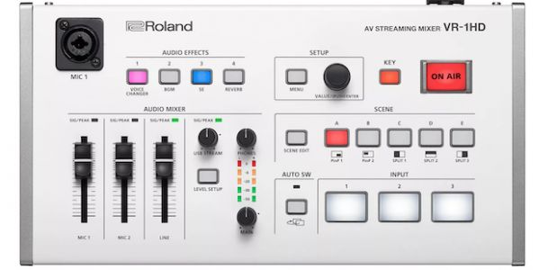 Roland VR-1HD Is a $1,500 Camera-Mixing Deck For Pro Live Streamers