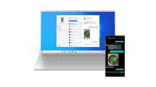 Your Phone app now makes your PC touchscreen a giant digital art pad for your smartphone
