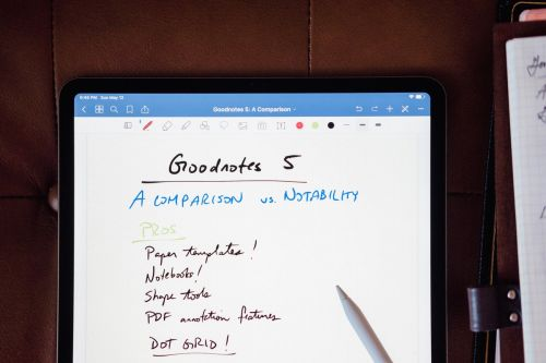 We Have a New Pick for the Best App for Taking Handwritten Notes on the iPad