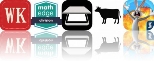 Today's Apps Gone Free: Word Keeper, MathEdge Division, Pop Scanner and More