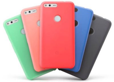 Google Pixel and Pixel XL silicone cases are now available for $35