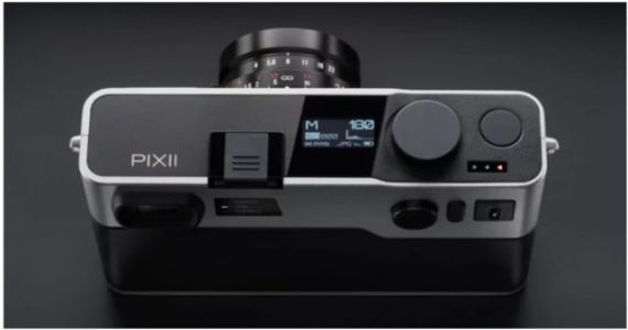 The Pixii Is A Digital Rangefinder Camera With A Leica M-Mount