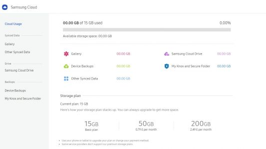 Samsung Cloud storage: Everything you need to know about it