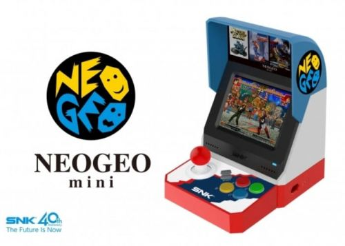 SNK Neo Geo Mini Portable Retro Arcade Game Confirmed